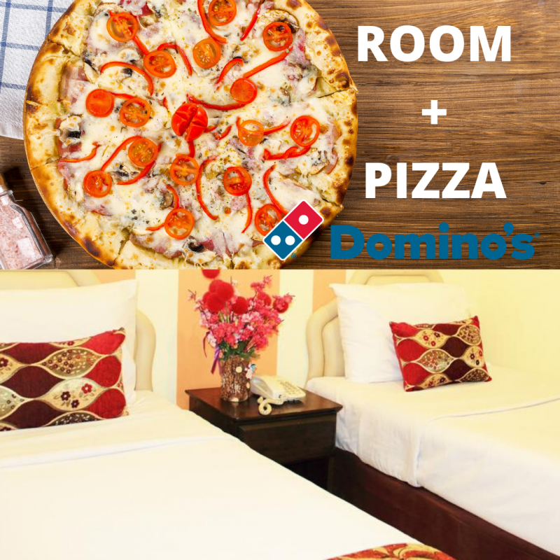 Superior No Window with PIZZA (2 Single bed)