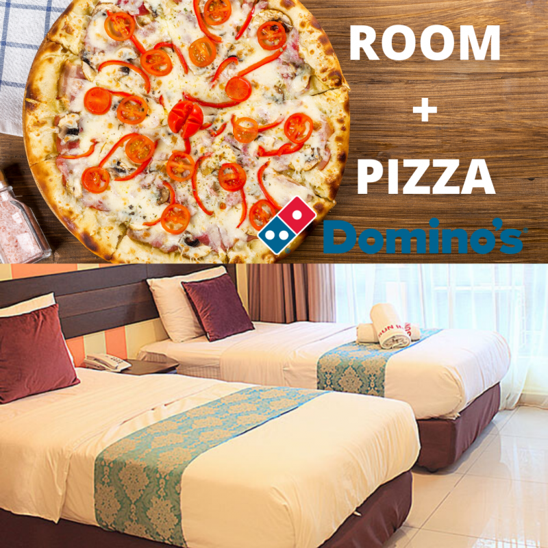 Superior Window with FREE PIZZA (2 Single bed)